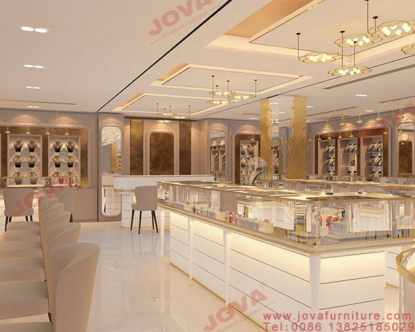 jewellery counter displays