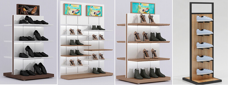 retail shoe display racks