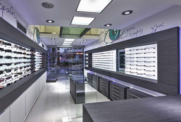 eyewear shop decoration ideas
