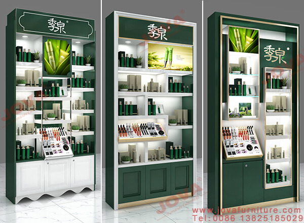 displays for cosmetic stores