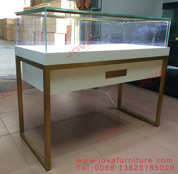 jewelry glass display cabinet