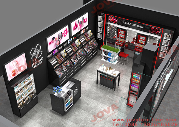 cosmetics showroom design