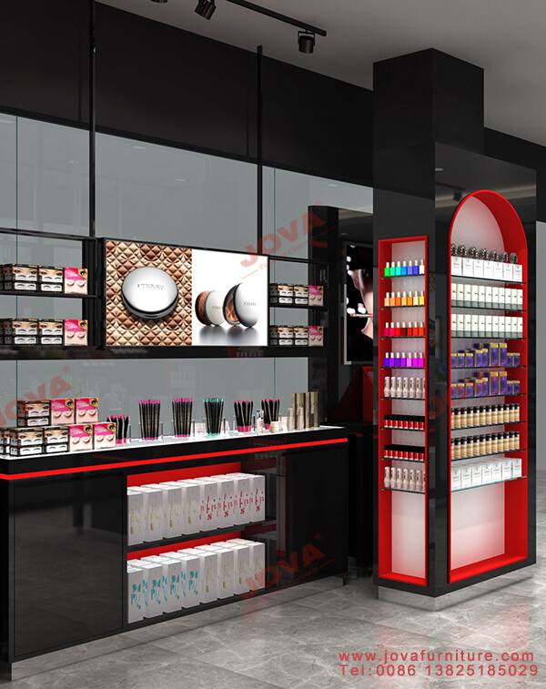 cosmetics store display