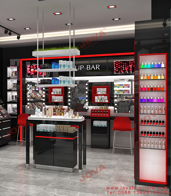 beauty store display