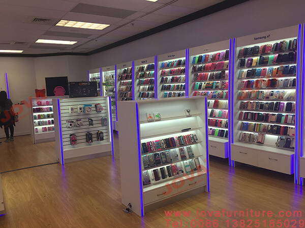 cell phone accessories shop design
