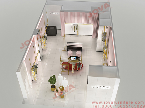 clothes shop design layout