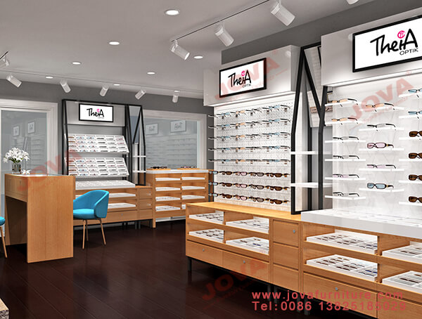 retail optical shop design Canada