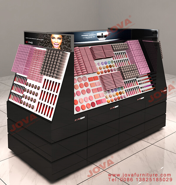 makeup gondola display
