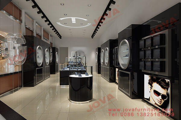 watch shop interior design