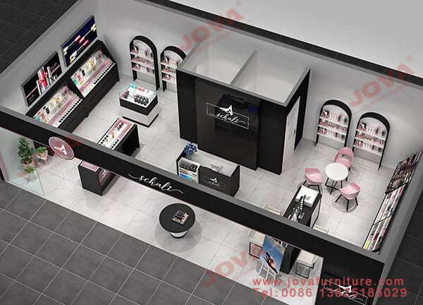 cosmetics shop design qatar