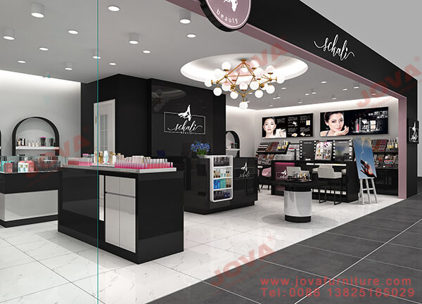 cosmetic shop decoration Qatar