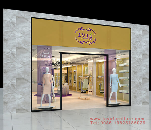 clothes shop front design ideas