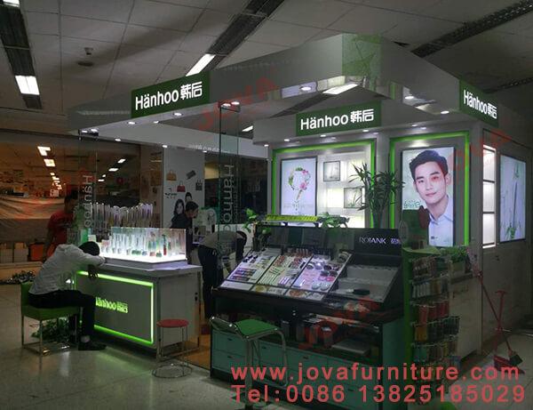 cosmetic mall kiosk