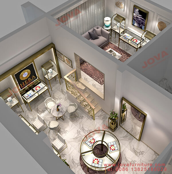 jewellery shop interior design Vietnam