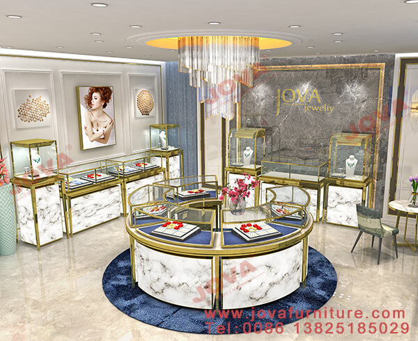 jewellery showroom designs