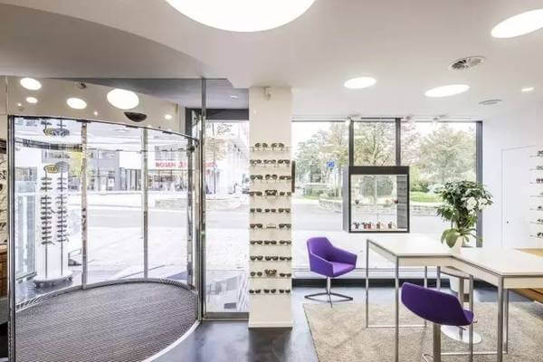 optical store design interior