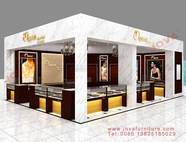 jewelry store display stands design