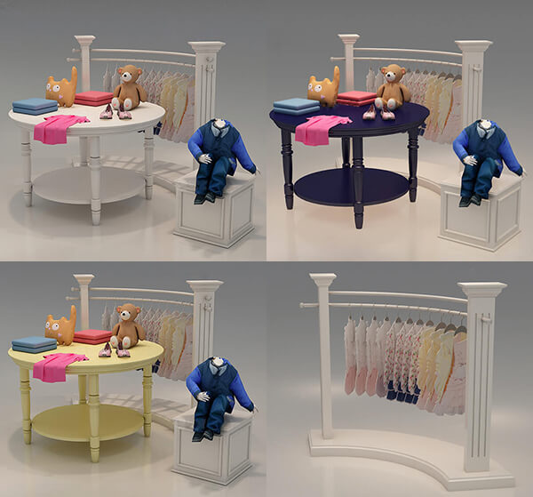 wholesale display tables