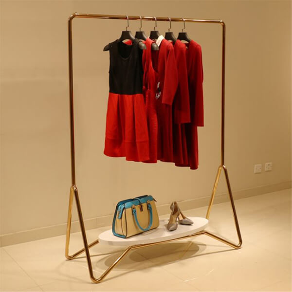 stainless steel garments display racks