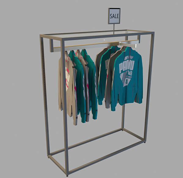 commercial clothing racks wholesale