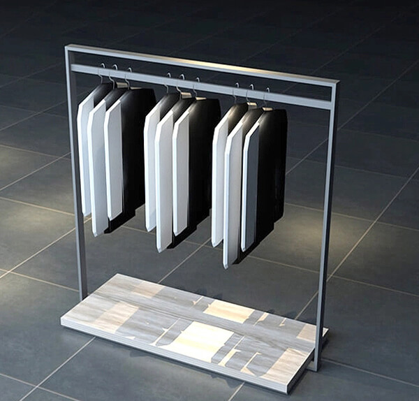 steel cloth stand