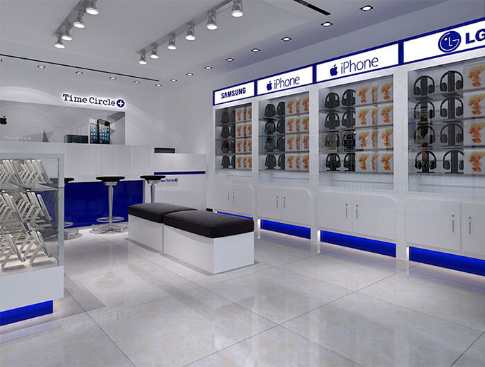 electronic shop furniture