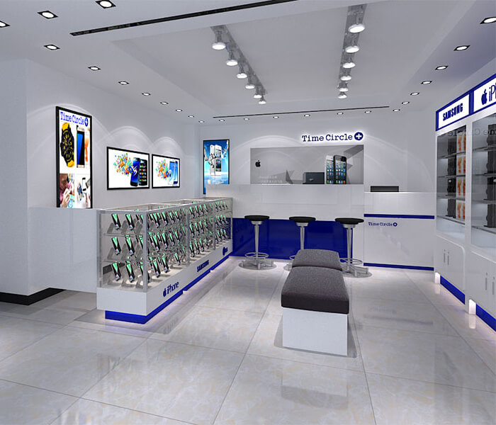 electronic shop design ideas