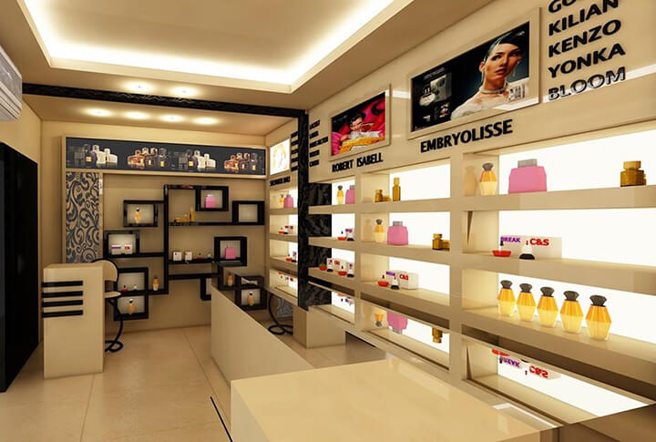 design for perfume shop