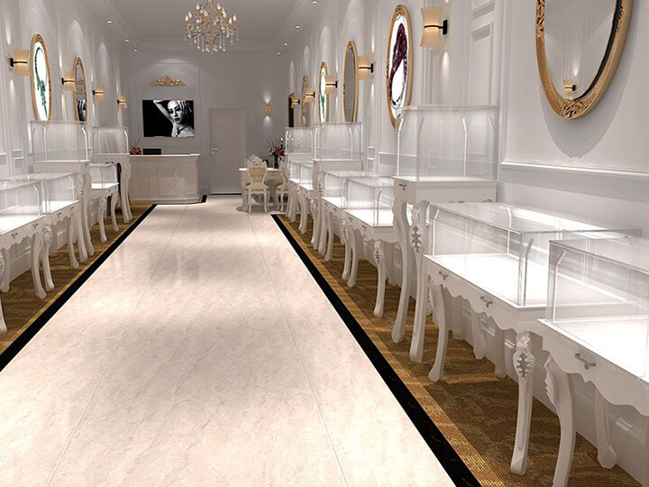 luxury jewellery showroom interior design