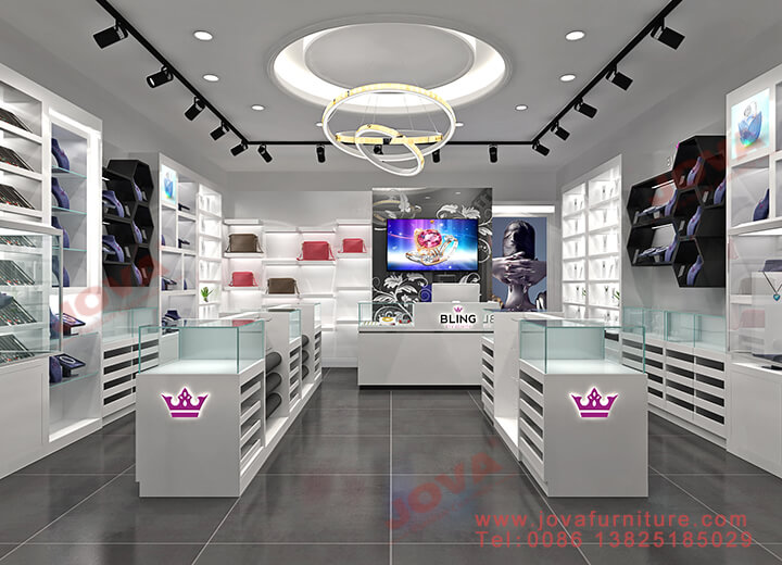 jewellery store layout design