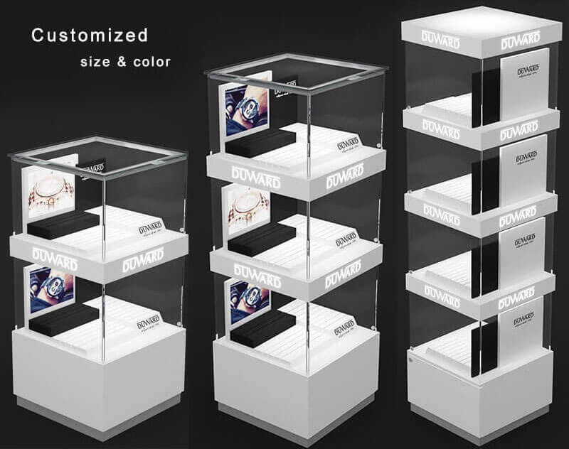 white display pedestal wholesale