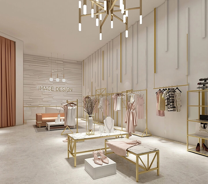 interior design for boutique shop