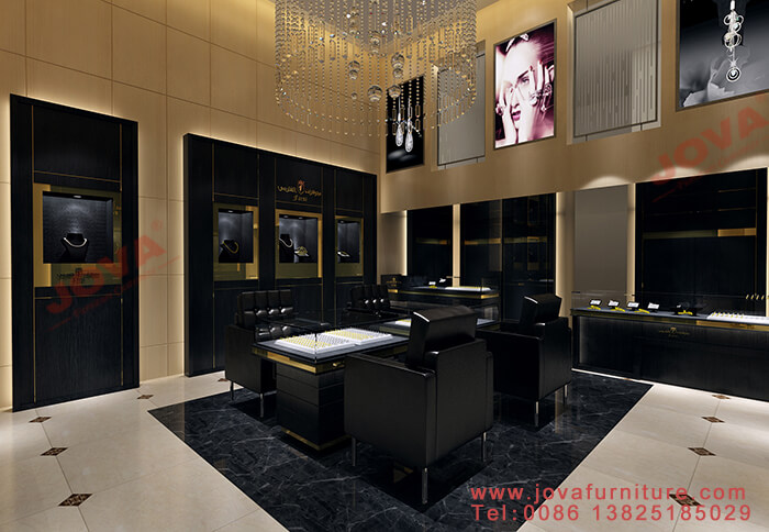 jewelry shop designing and furniture manufacturing