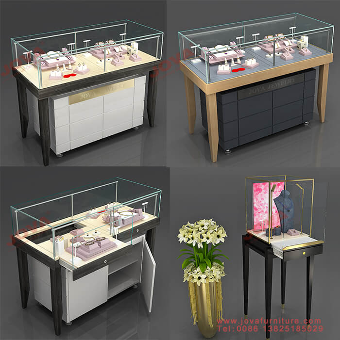 jewellery store counter display