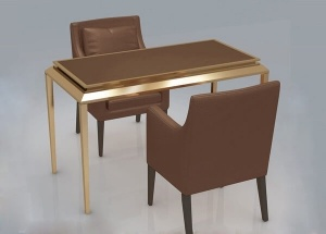 jewelry store reception table