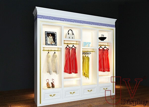 clothing shop display cabinets