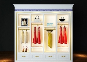 shop display cabinets for clothing white