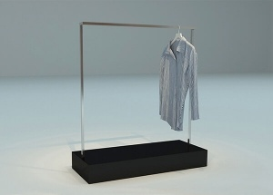 metal garment display stand
