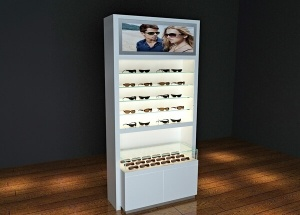 optical showroom display