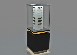 glass display stand