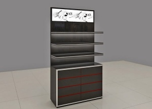 Cosmetic shelf black new custom made