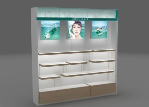 skincare display cabinet