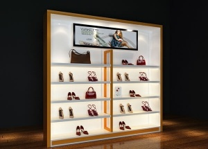 shoe store display racks