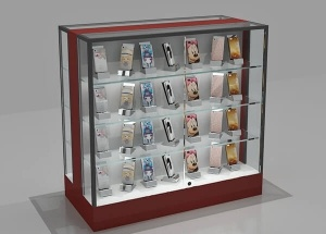 cell phone case display rack