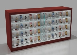 cell phone store display fixtures