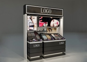 Cosmetic lipstick display stand & black counter