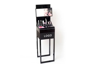 Portable display stands for perfume skin care shops