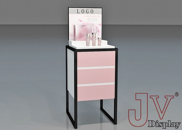 cosmetic display stand design