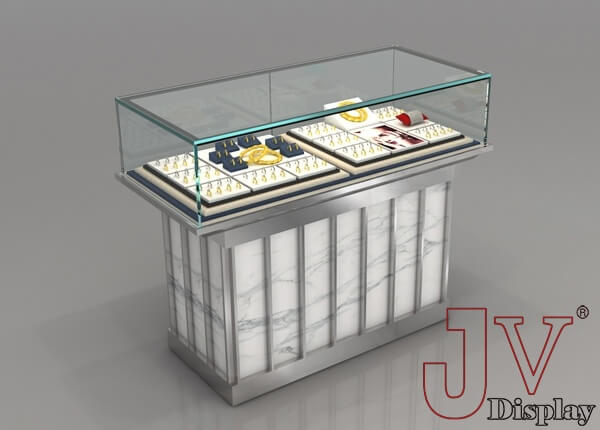 jewellery shop counter