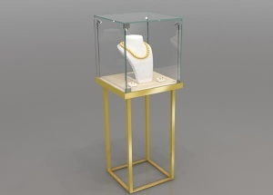 jewelry pedestal showcase